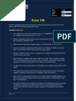 Essar Oil Review