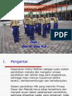 Pengembangan Sistem Kepanduan Hizbul Wathan