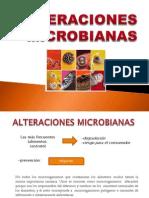 ALTERACIONES MICROBIANAS