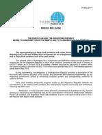 Acuerdo entre Argentina y el Club de Paris