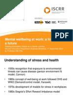 Health Wellbeing Education Workforce Breakfast 12 September 2013