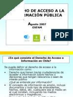 Derecho de Acceso a La Informacion Publica