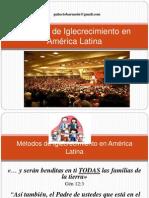 Métodos de Iglecrecimiento en AméricaLatina
