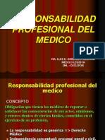 Jornada ETICA LEGALIDAD Respons Prof Med Dr Gonzales