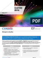 Studiu Tendinte Si Realitati CSR in Romania, Editia 2014, CSRmedia.ro - EY Romania