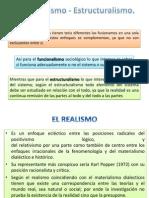 Funcionalismo - Estructuralismo