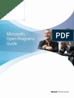 Microsoft Open Programs Guide