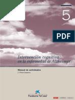 intervencion cognitiva actividades