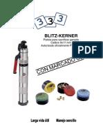 Pistola de sacrificio-Manual de Instrucciones Blitz Kerner