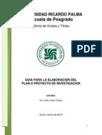 Guia Tesis AAURP 2014