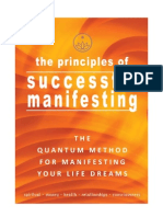 The Principles of Successful Manifesting