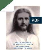 Martin, Dorothy - El Registro Thedra