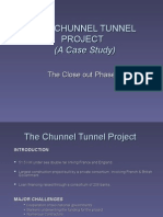 The Chunnel Tunnel Project