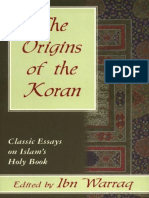 Ibn Warraq - The Origins of the Koran--Classic Essays on Islam's Holy Book