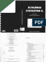 statisztika 2 tankönyv