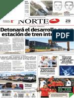 Periódico Norte edición impresa del día 29 de mayo del 2014