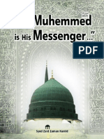 Muhemmed (PBUH)  is His Messenger