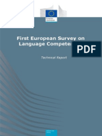 Technical Report European Language