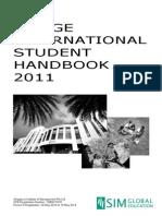 SIM GE Student Handbook (International) Dtd 7 Mar 11