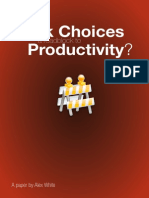 Workchoices Roadblock to Productivity