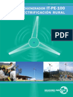 3. Microaerogenerador IT PE 100 Para Electrificacion Rural