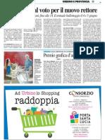 Università al voto per il nuovo Rettore - Il Resto del Carlino del 28 maggio 2014