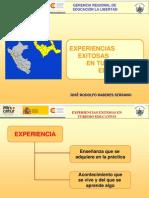 La Libertad - Experiencias Exitosas en Turismo Educativo