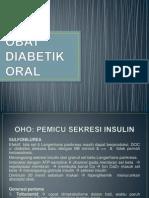 Obat Diabetik Oral