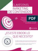 Increnta - Cinco Claves en El Marketing de Contenidos