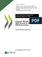 Indicator Model for GDP Forecasr