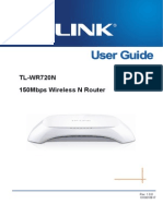 TL-WR720N User Guide