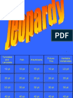Chordate Jeopardy Review
