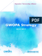 Global Water Operators Partnership Alliance , Strategy 2013-2017