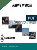 Coal India Machinery