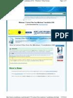 Win7 Extract Files Window