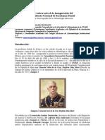 110 Aniversario de La Inauguración Del CNED Artículo. CDEO. ARTURO ALVARADO ROSSANO