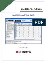 Инструкция Пользователя Программы PC Admin - Программирование АТС Версий 3.х (Англ. Язык)