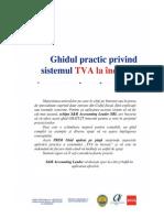 Ghid Practic TVA La Incasare Primit de La Ceccar Cluj