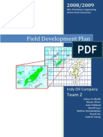 indy oil field development plan