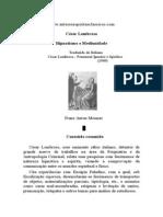 César Lombroso - Hipnotismo e Mediunidade