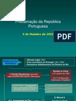 Proclamação Da Republica Portuguesa(9!03!2009)