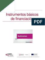 INSTRUMENTOS FINANCIACION
