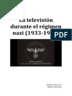 Televisión Durante El Régimen Nazi