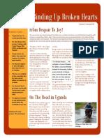 BUBH Spring 2014 Newsletter