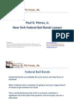 New York Federal Bail Bonds Lawyer