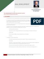 Ten Commandments for Sure-fire Associate Success