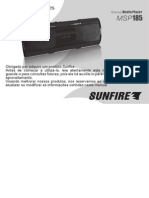MANUAL Mp3 Player Portátil Sunfire Msp185