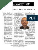 Freedom Writer Vol 1 Issue 1