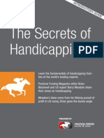 Secrets of Handicapping
