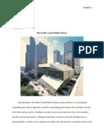 architecture - seattle public library